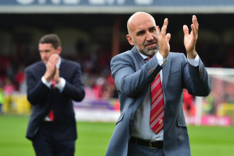 Clem Morfuni is a hero at Swindon Town, the club he took 100 per cent control of two months ago.