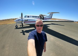 Royal Flying Doctor Service pilot Michael Tregear got a rapid COVID-19 test, allowing him to return to work the same day.