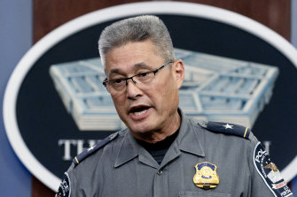 Pentagon Police Chief Woodrow Kusse would not be drawn on the details of the attack.