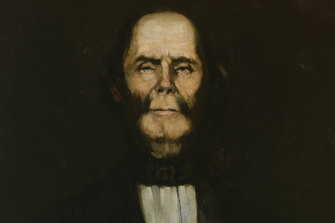 A painting of William Buckley by an unknown artist.