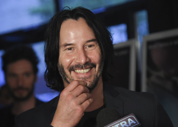 smh.com.au - Jacqueline Maley - In defence of Keanu: humanity's gentle emissary, who never claimed to be a great actor