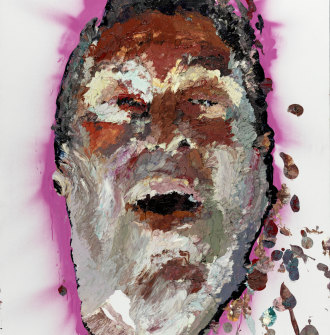 Quilty's 2009 Doug Moran National Portrait Prize-winning painting of Jimmy Barnes.