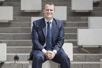Tim Wilson during his stint at the Human Rights Commission.