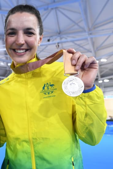 Wiasak won silver at the Gold Coast Commonwealth Games earlier this year.