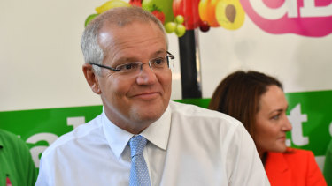 Scott Morrison is proving a strong campaign performer.