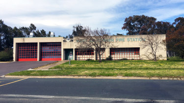 The old Charnwood fire station, where PFAS contamination was found.