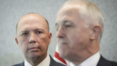 Turnbull wanted the Governor-General to rule Peter Dutton out of contention due to constitutional issues.