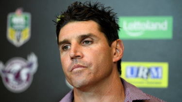 Fallout: Manly has no intention of paying out Trent Barrett.