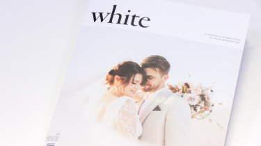 White magazine has been criticised by contributors who say it refuses to feature same-sex couple.