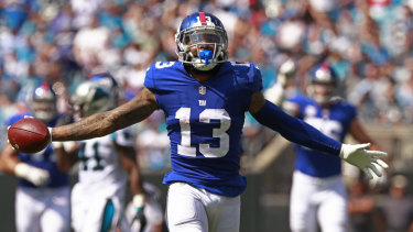 Odell Beckham jr will join the Cleveland Browns after being traded.