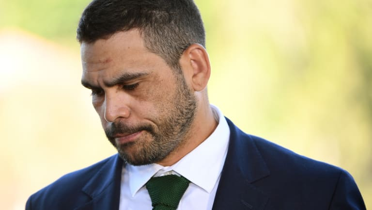 Greg Inglis addresses the media over his drink-driving charge.