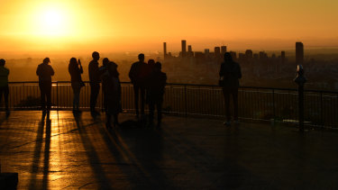 The view from Mount Coot-tha is beloved by many.