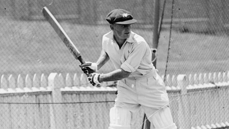 Great eye: For cricket legend Stan McCabe, baseball took a key variable out of the ball's delivery.