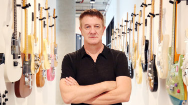 Fender chief executive Andy Mooney says Australians are keener than ever to learn guitar.