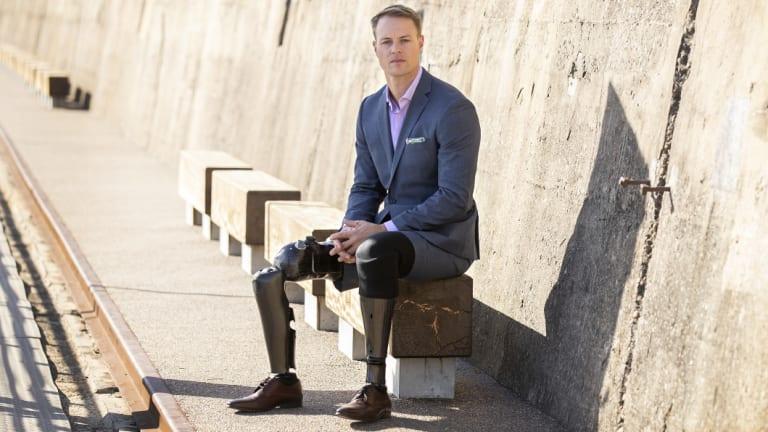 Curtis McGrath as an ambassador in the new Van Heusen's 'Mentors of Men' campaign.