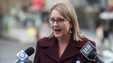 Minister for Transport Infrastructure Jacinta Allan blamed the increased cost on expanded works.