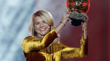 Norway's Ada Hegerberg won the Ballon D'Or but won't be sighted on the pitch at the Women's World Cup.
