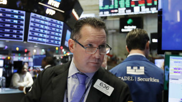 Wall Street slid on Thursday as jitters returned.