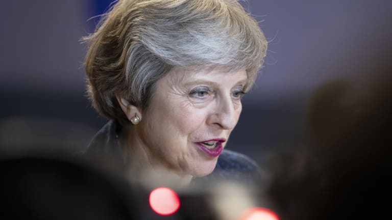 British PM Theresa May's already shaky grip on power could be weakened by the resignation of the two Brexit ministers.