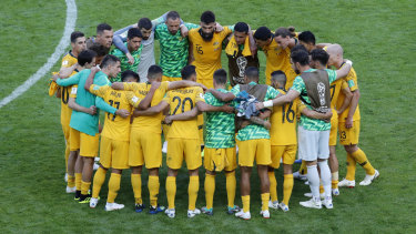 More to come: Incoming Socceroos coach Graham Arnold says the only way is up for the national side.