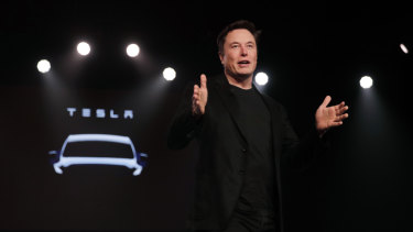 Tesla chief Elon Musk lays out his plans at the company's investor day.