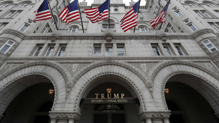Rooms at the Trump International Hotel in Washington were repeatedly booked by a lobbyist for the Saudi government.