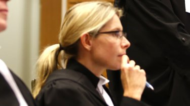 Barrister Renee Enbom has worked on a number of high-profile cases.