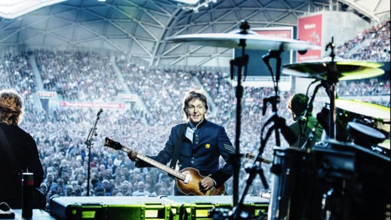 Paul McCartney this week in Melbourne.