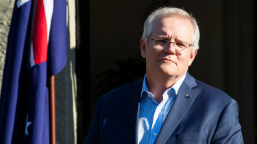 Scott Morrison is handing control of the Australian military to the United States.