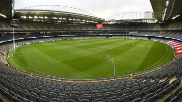 The AFL-owned Marvel Stadium.
