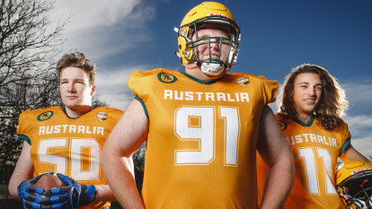 The Canberra receptionist heading to Mexico for gridiron world champs