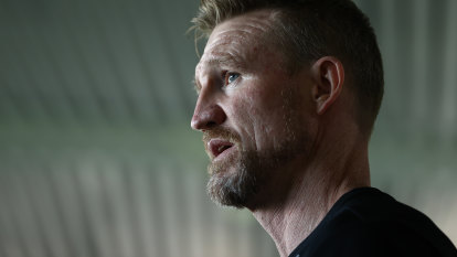 Over to you: Buckley puts his future in Magpies' hands