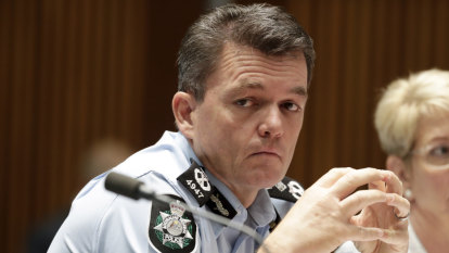 'He saw the writing on the wall': AFP commissioner rules out new term