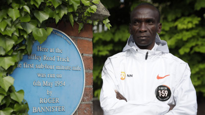 1:59.50: Desired time in Kipchoge's bid to break vaunted two-hour marathon