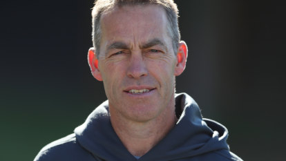 Clarkson tackles 'elephant in the room', and says he's not going to Carlton