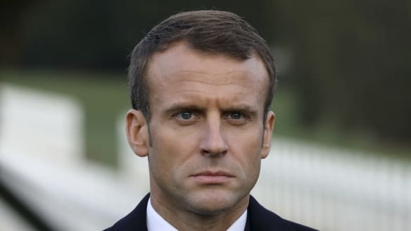 Macron wants 'Euro army' to combat China, Russia and US