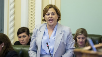 Jackie Trad apologises over house buy