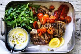 Adam Liaw's low-carb souvlaki-style lamb chops