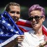 US men's team backs women for equal pay