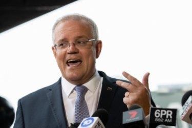 Australian Prime Minister Scott Morrison pledges $70m for roadworks in a key marginal seat.