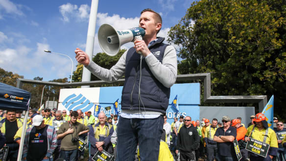 BlueScope steel workers begin strikes over wages