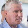 Michael McCormack's tough words only confirmed his weakness