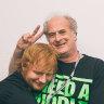 Ed Sheeran dedicates new album to Michael Gudinski