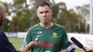 New job: Matildas coach Ante Milicic will join the A-League in 2020.