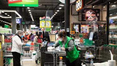 Woolworths is trialing new 3D cameras which view customers as blobs.