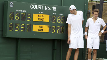 In 2010, John Isner and Nicolas Mahut went to the absurd lengths of 70-68 in the final set.