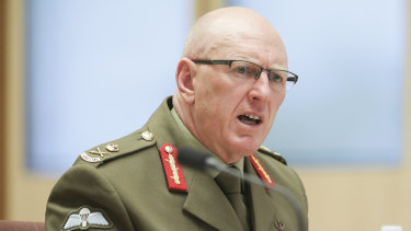 Lieutenant-General John Frewen, commander of the Defence COVID-19 Taskforce.
