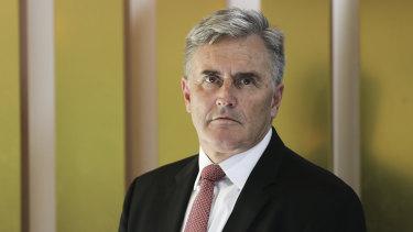 Australian chef de mission Ian Chesterman.