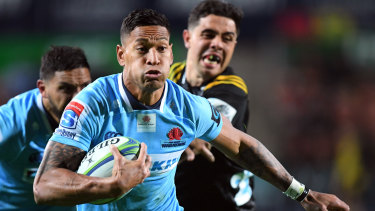 Star power: Israel Folau and the Waratahs are heading west next season.