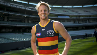 Rory Sloane will be the Crows' captain in 2020.